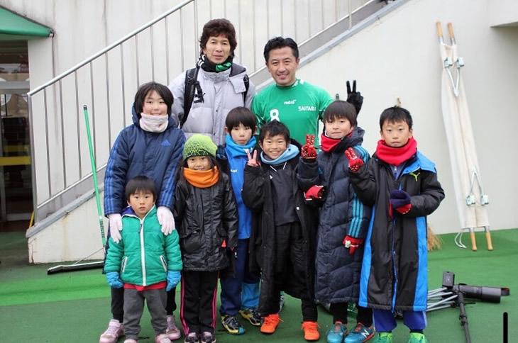 フォールササッカースクール子ども